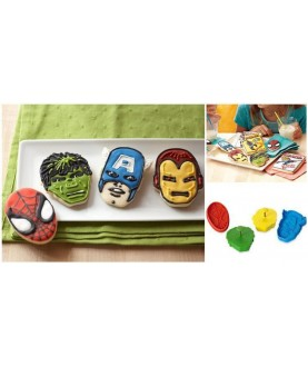 Set Supreroi Marvel (4pz)