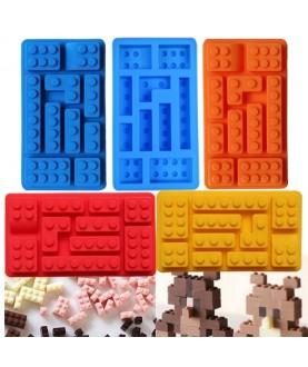 Stampo Lego Mattoncini 3d silicone