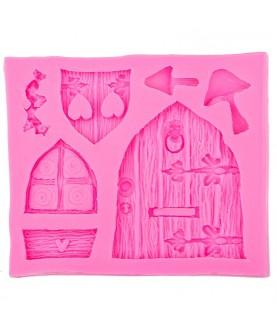 Stampo Casa Fatata 3d silicone
