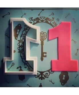 Numero a scelta (h10cm)