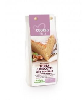 Miscela per Torta e Biscotti alle Nocciole (Senza Glutine)