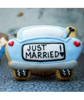 Just married automobile