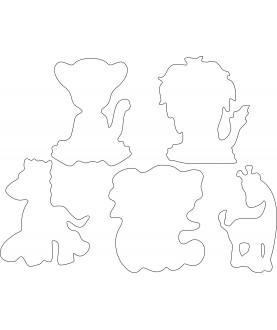 Set 5 Animali
