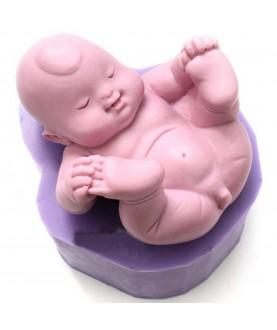 Stampo Bebè Pisellino 3d silicone