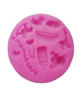 Stampo Baby Shower 1 3d silicone