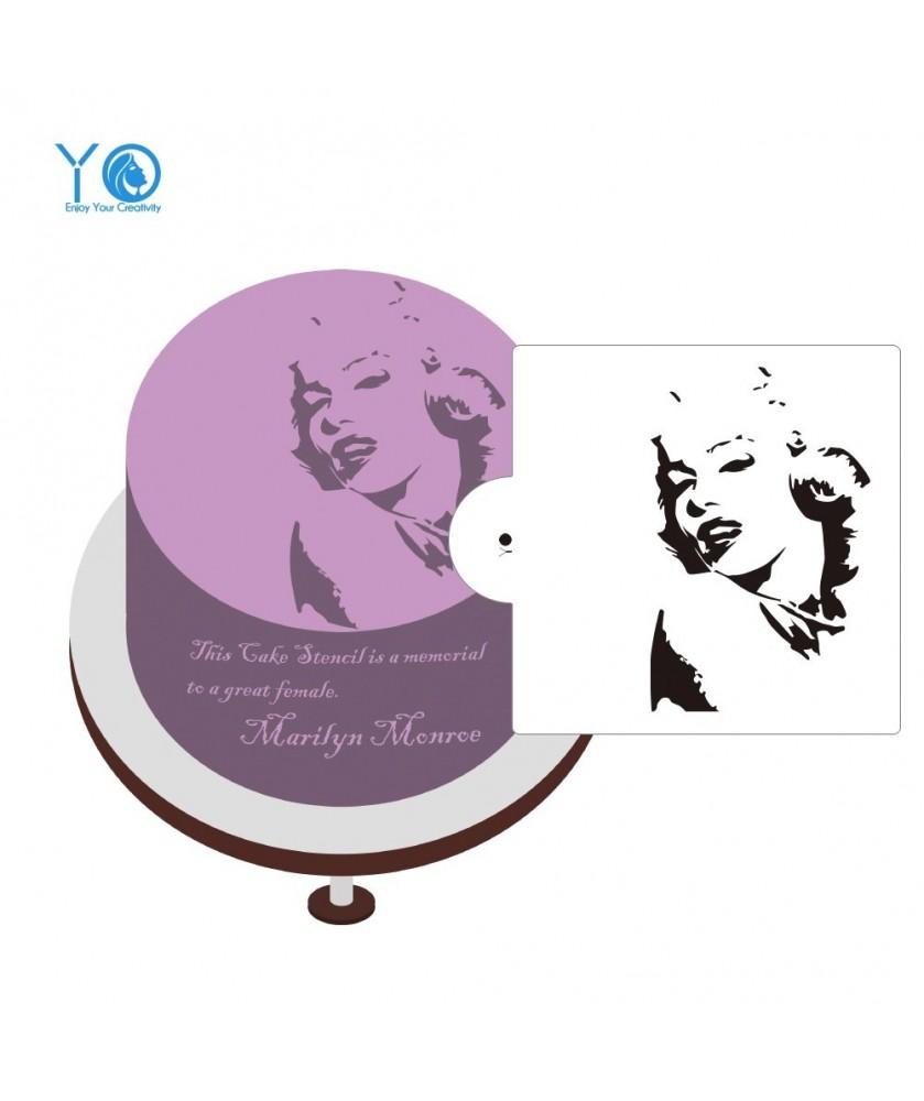 Stencil Marilyn Monroe