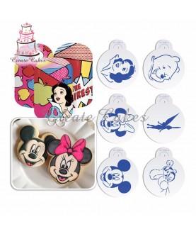 Stencil Biscotti Personaggi Disney