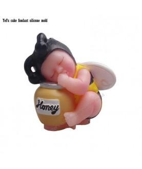 Stampo Bebè Ape 3d silicone