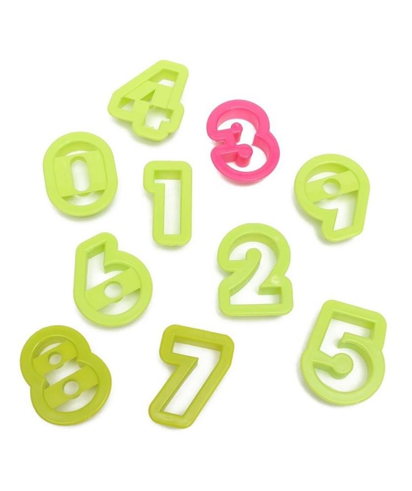 Numeri h 5,2 cm - 9 pz