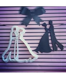 Sposo sposa abito largo