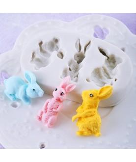 Coniglietti 3d silicone