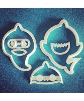 Set baby shark scomponibile