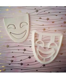 Maschera - sorridente