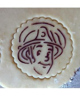 Stencil Biscotti Happy Birthday