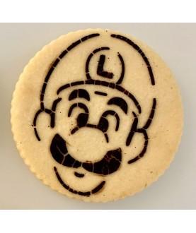 Stencil Biscotti Mario Bros